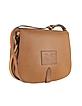 Saddle Medium Leather Shoulder Bag - Ralph Lauren Collection
