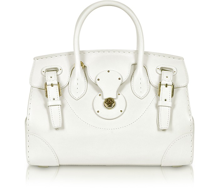 Ricky Calf Leather Satchel Tote - Ralph Lauren Collection