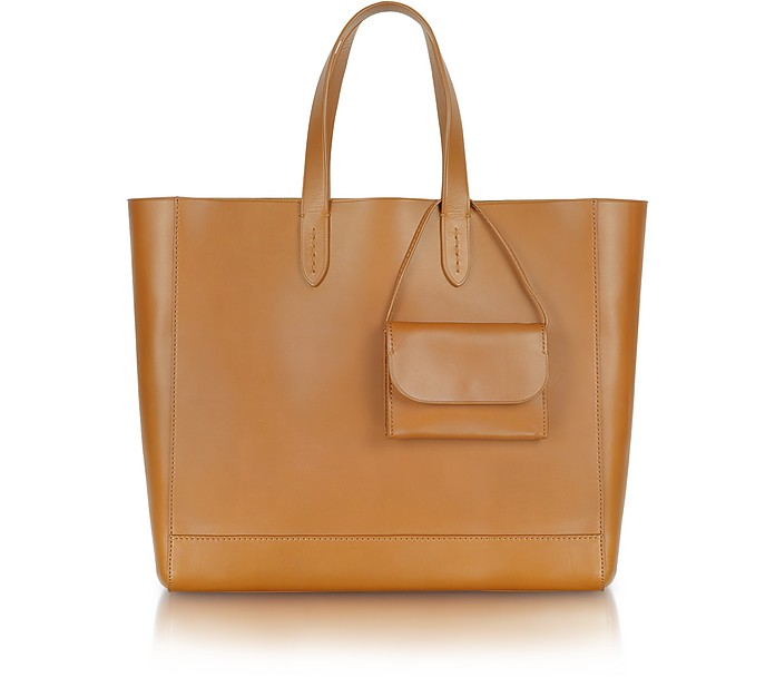Easy Tote - Extra Large Calfskin Shopper - Ralph Lauren Collection