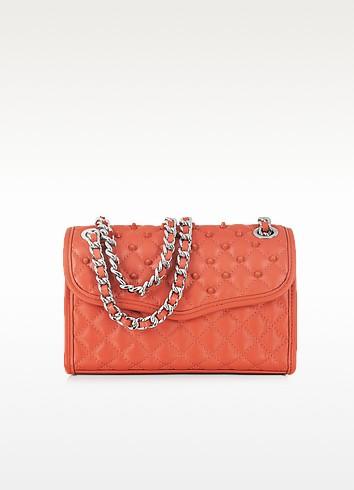 Mini Affair Diamond Quilt Studded Shoulder Bag - Rebecca Minkoff