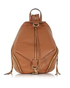 Julian Almond Leather Backpack - Rebecca Minkoff