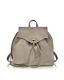 Darren Mushroom Leather Backpack - Rebecca Minkoff