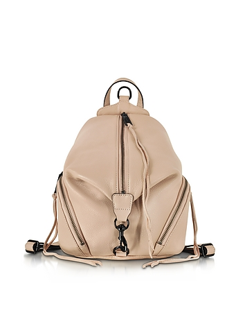 Julian Nude Leather Medium Backpack rm130117-016-00