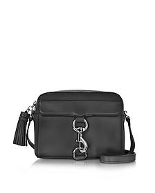 Black Leather Mab Camera Bag - Rebecca Minkoff