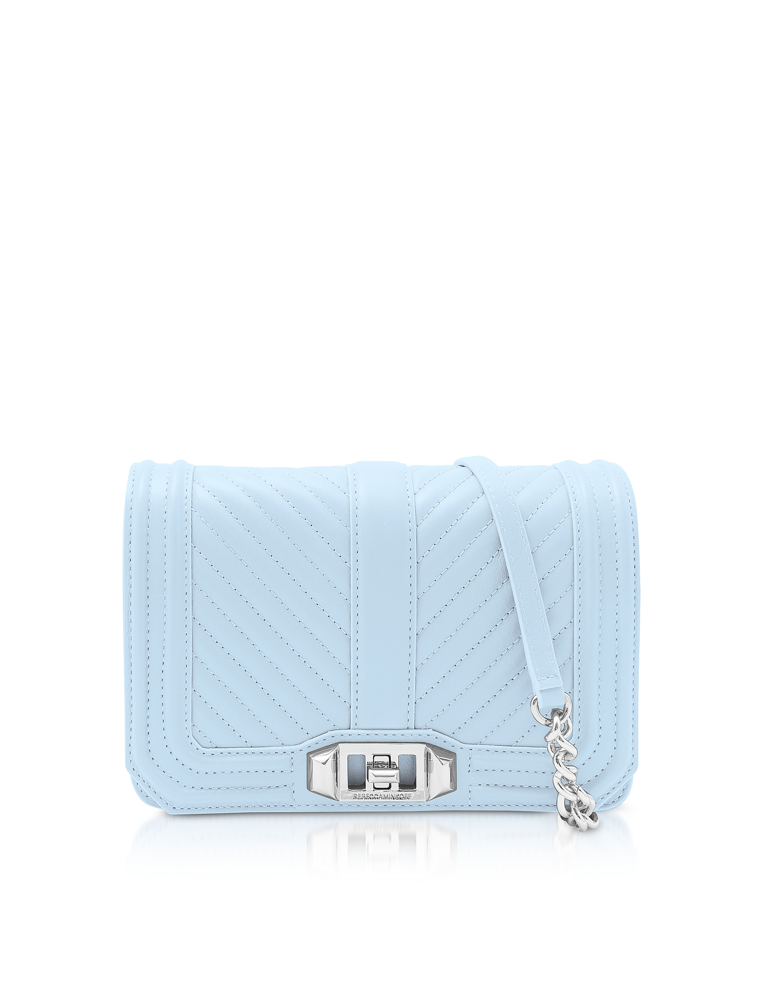 Rebecca Minkoff Handbags, Chevron Quilted Leather Small Love Crossbody