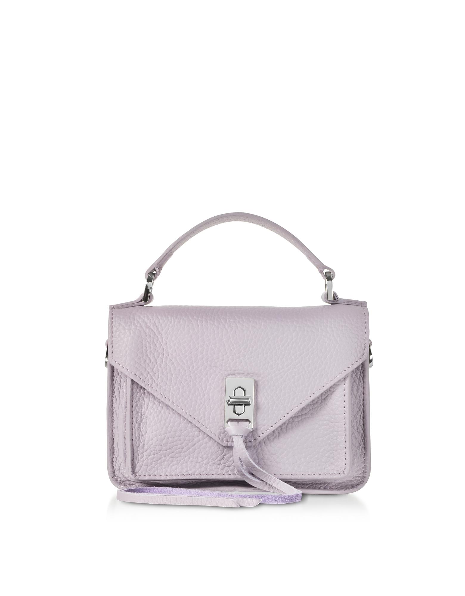 Leather Mini Darren Messenger Bag