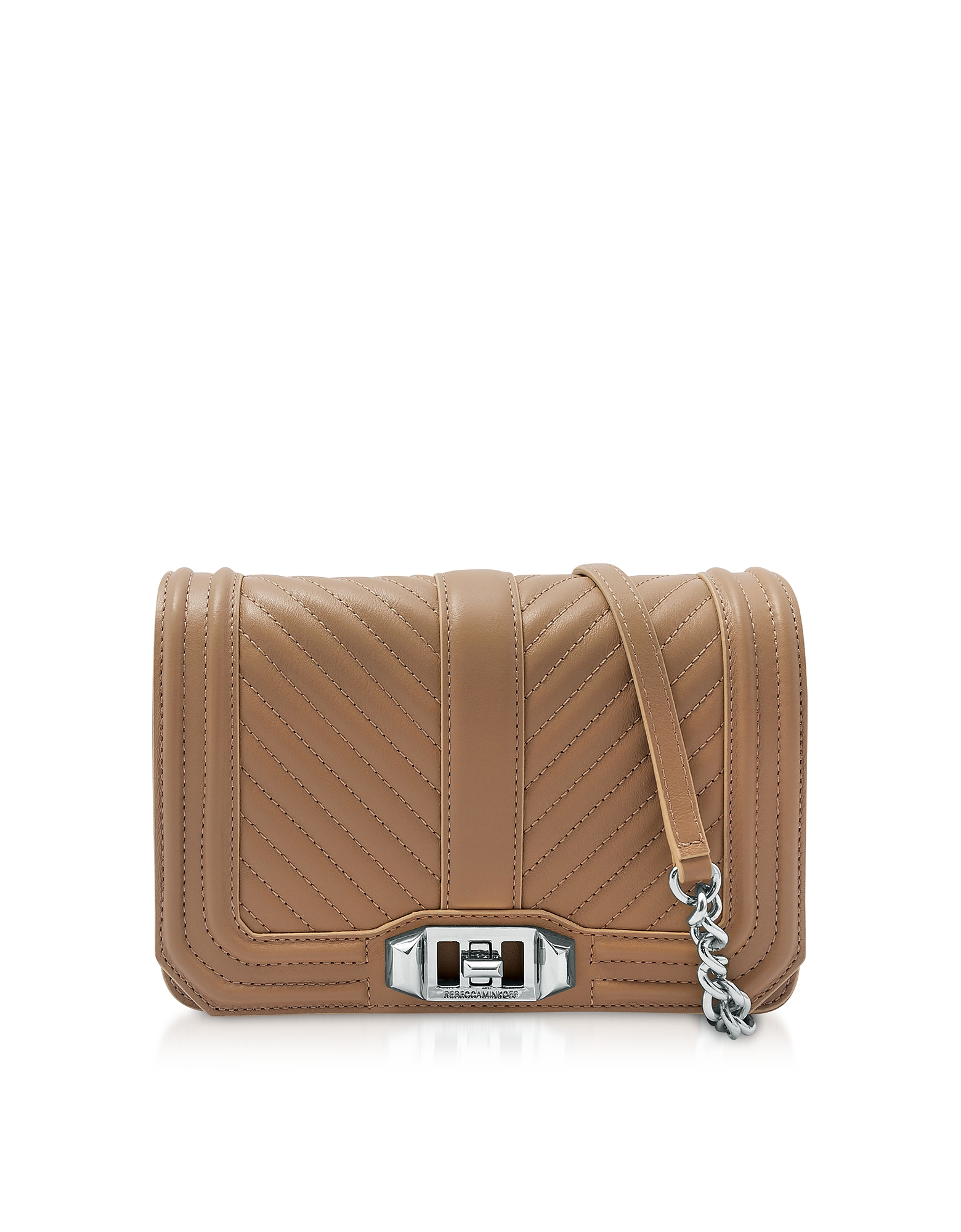 Rebecca Minkoff Handbags, Desert Small Quilted Leather Love Crossbody Bag