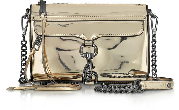 Mirrored Metallic Mini M.A.C. Crossbody Bag - Rebecca Minkoff