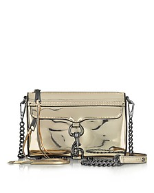 Mirrored Metallic Mini M.A.C. Crossbody Bag - Rebecca Minkoff