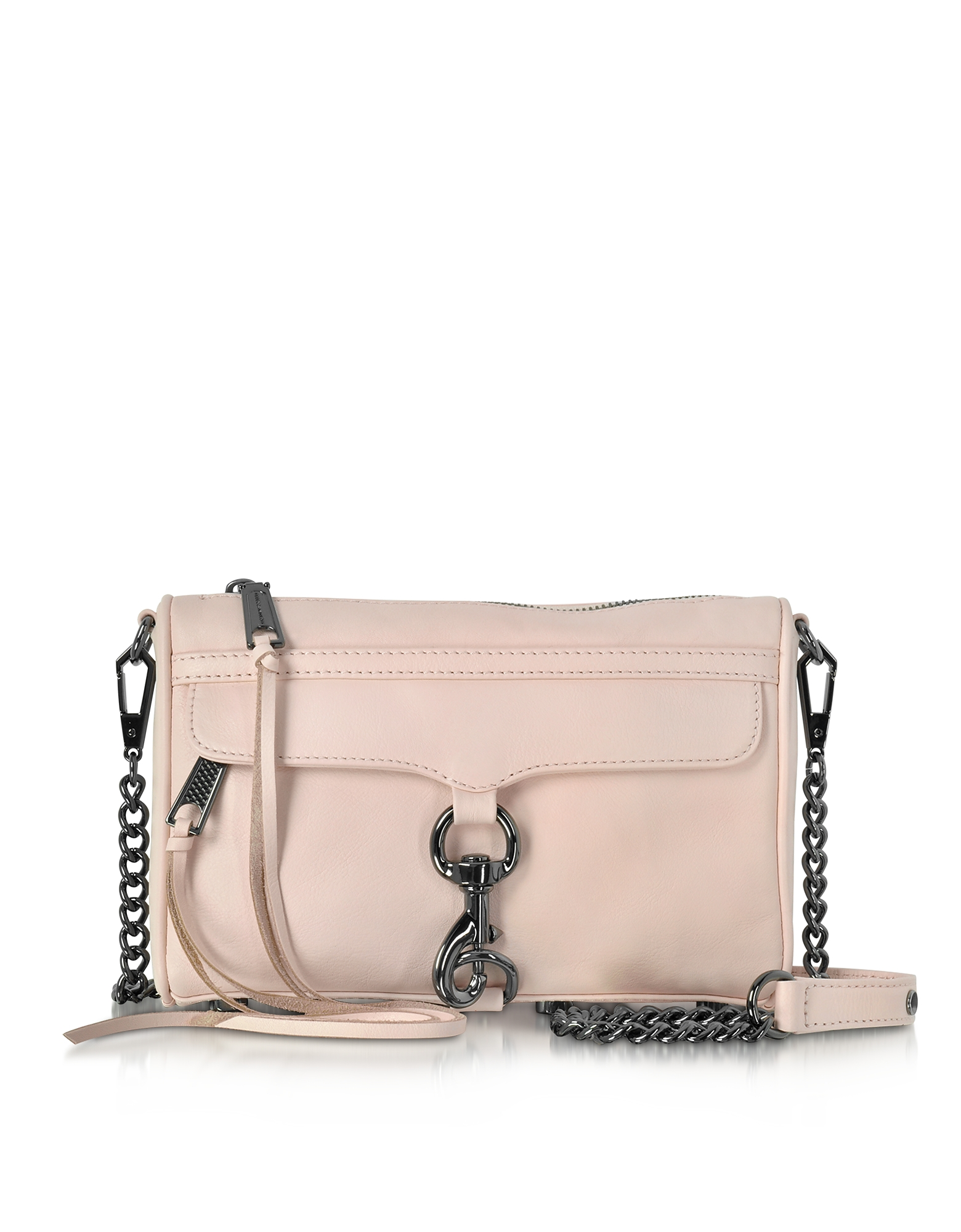 Rebecca Minkoff Soft Blush Leather Mini M.A.C. Crossbody Bag