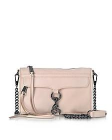 Soft Blush Leather Mini M.A.C. Crossbody Bag - Rebecca Minkoff