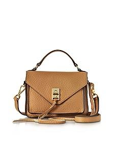 Sand Leather Mini Darren Messenger Bag - Rebecca Minkoff