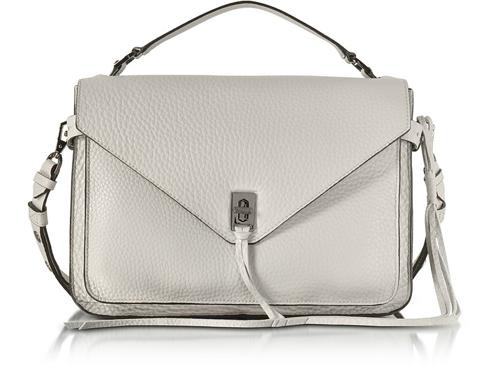Putty Pebble Leather Darren Messenger Bag - Rebecca Minkoff