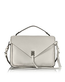 Putty Pebble Leather Darren Messenger Bag - Rebecca Minkoff
