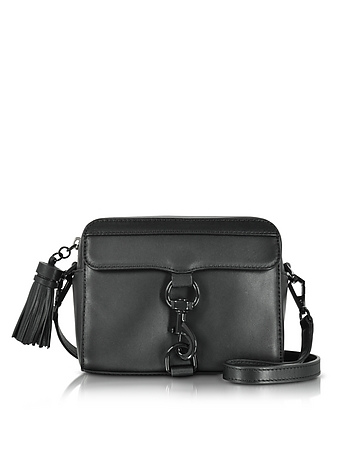 Rebecca Minkoff - Black Leather MAB Camera Bag