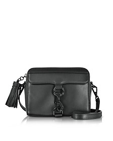 Black Leather MAB Camera Bag - Rebecca Minkoff