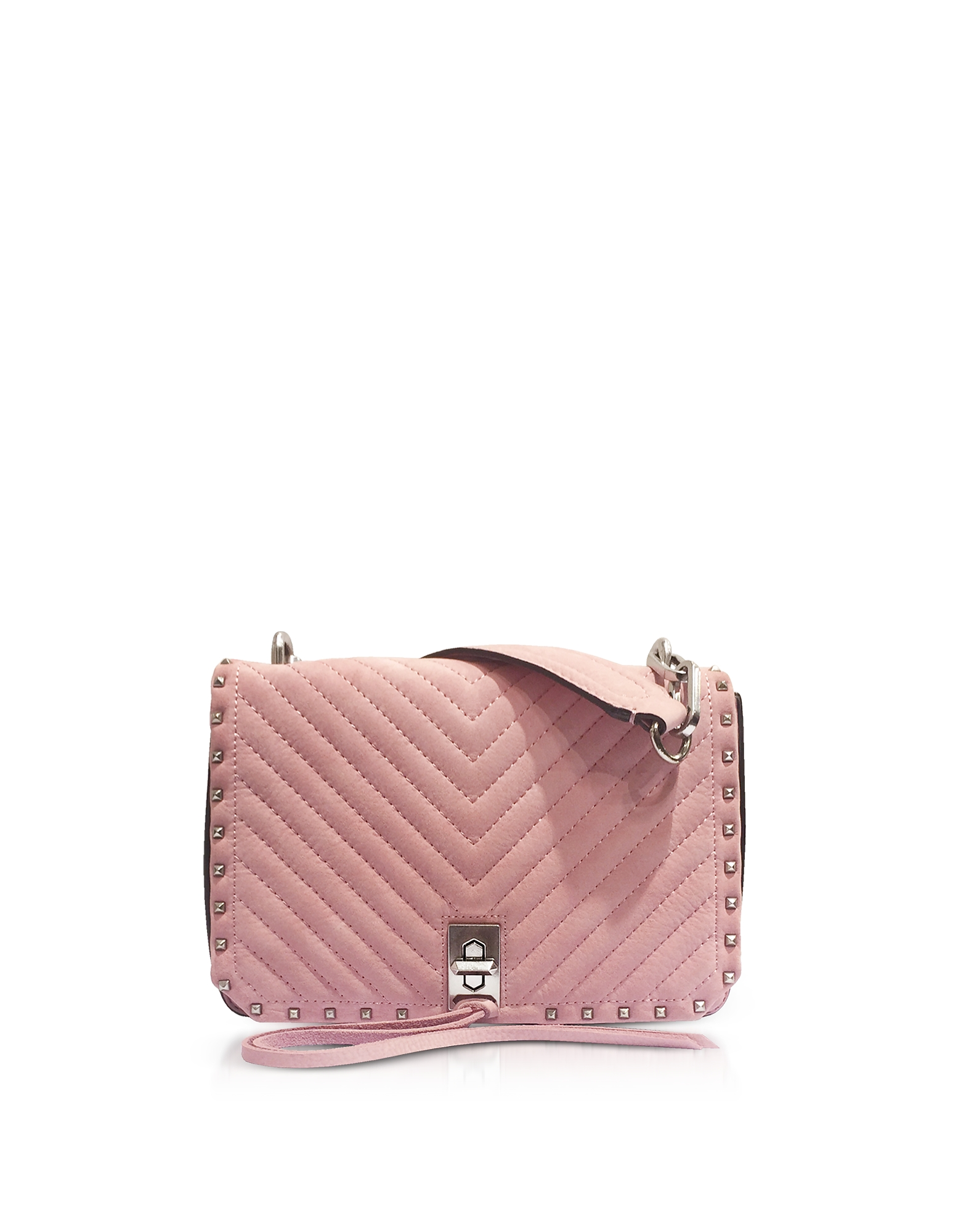 Blossom Pink Nappa Leather Small Becky Crossbody