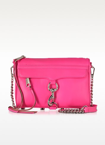 Electric Pink Mini MAC Crossbody Bag - Rebecca Minkoff