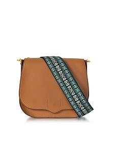 Almond Leather Sunday Saddle Bag - Rebecca Minkoff