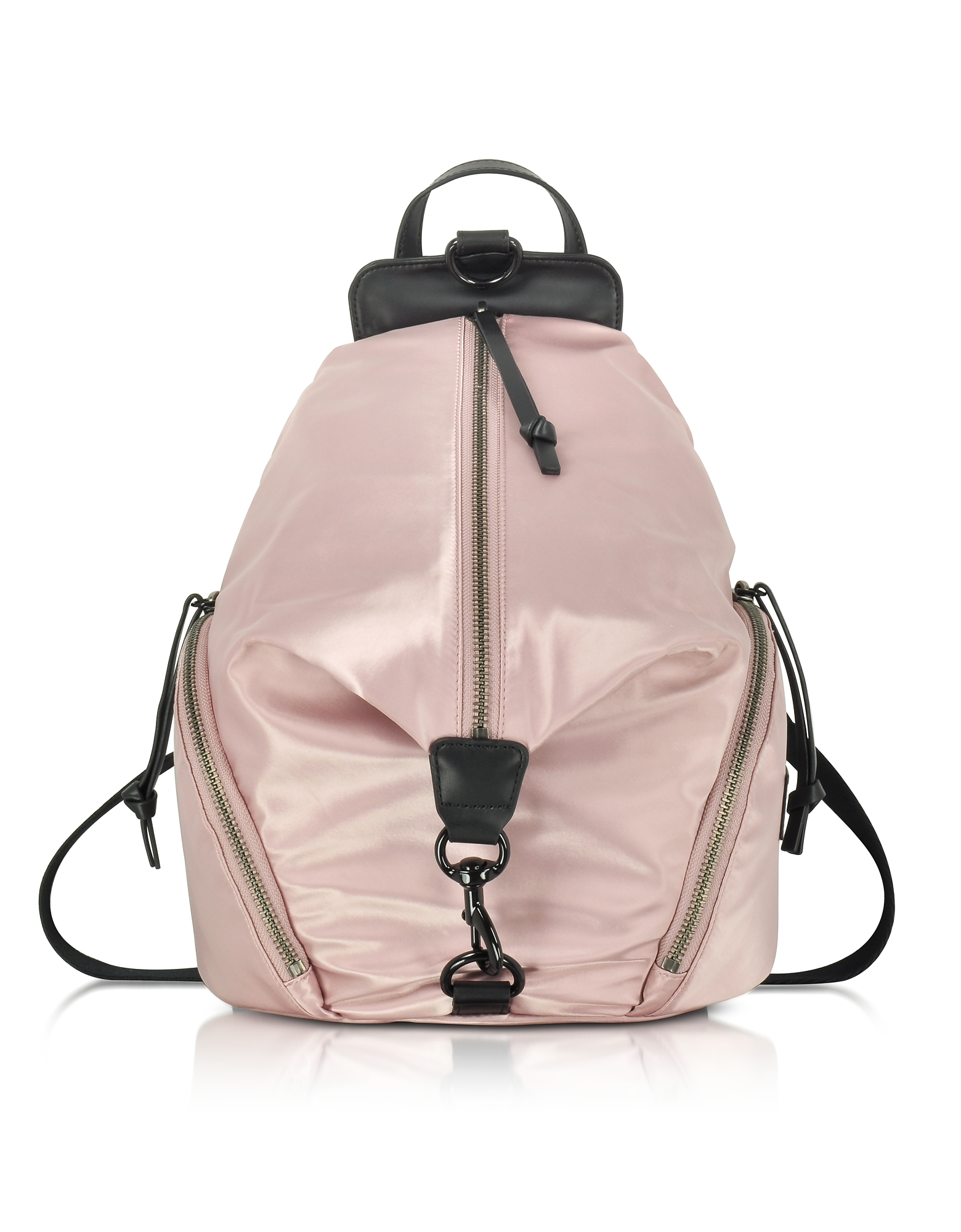 Rebecca Minkoff Dark Vintage Pink Julian Nylon Backpack