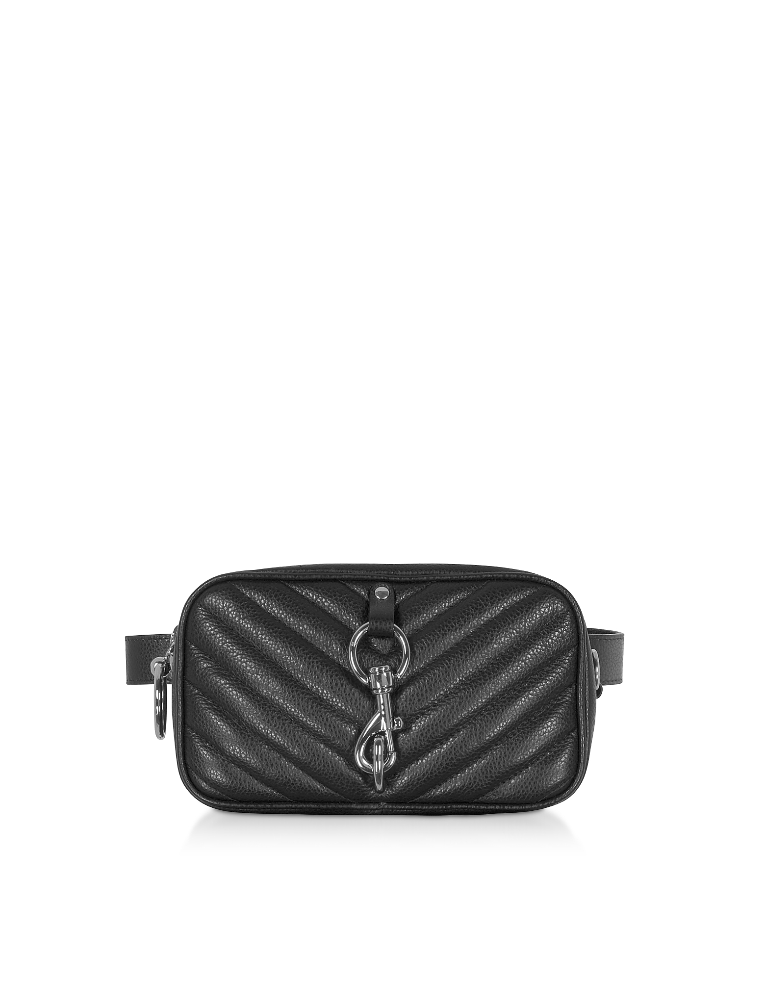 Rebecca Minkoff Designer Handbags, Pebbled Leather Camera Belt Bag
