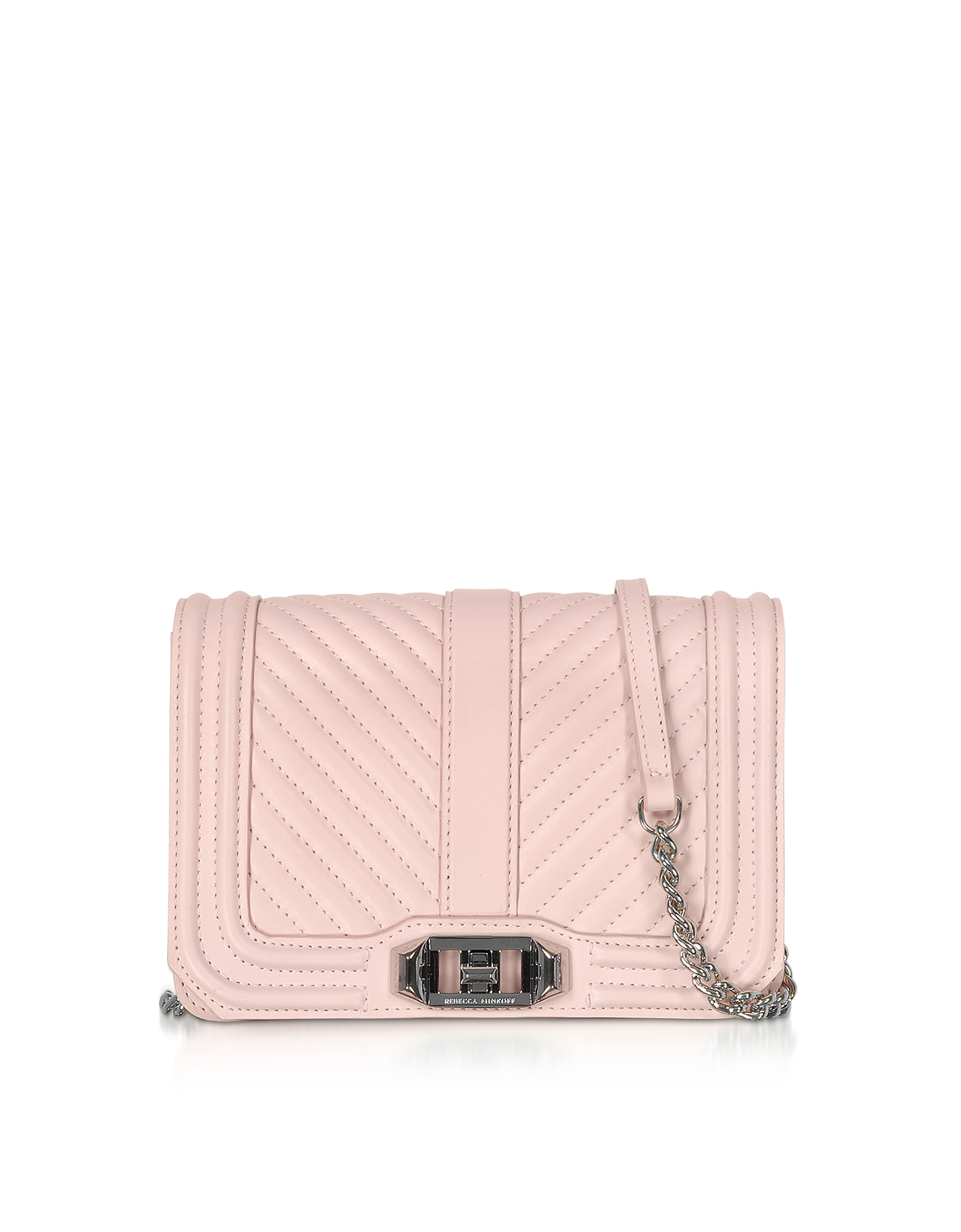 Rebecca Minkoff Designer Handbags, Nappa Leather Small Love Crossbody