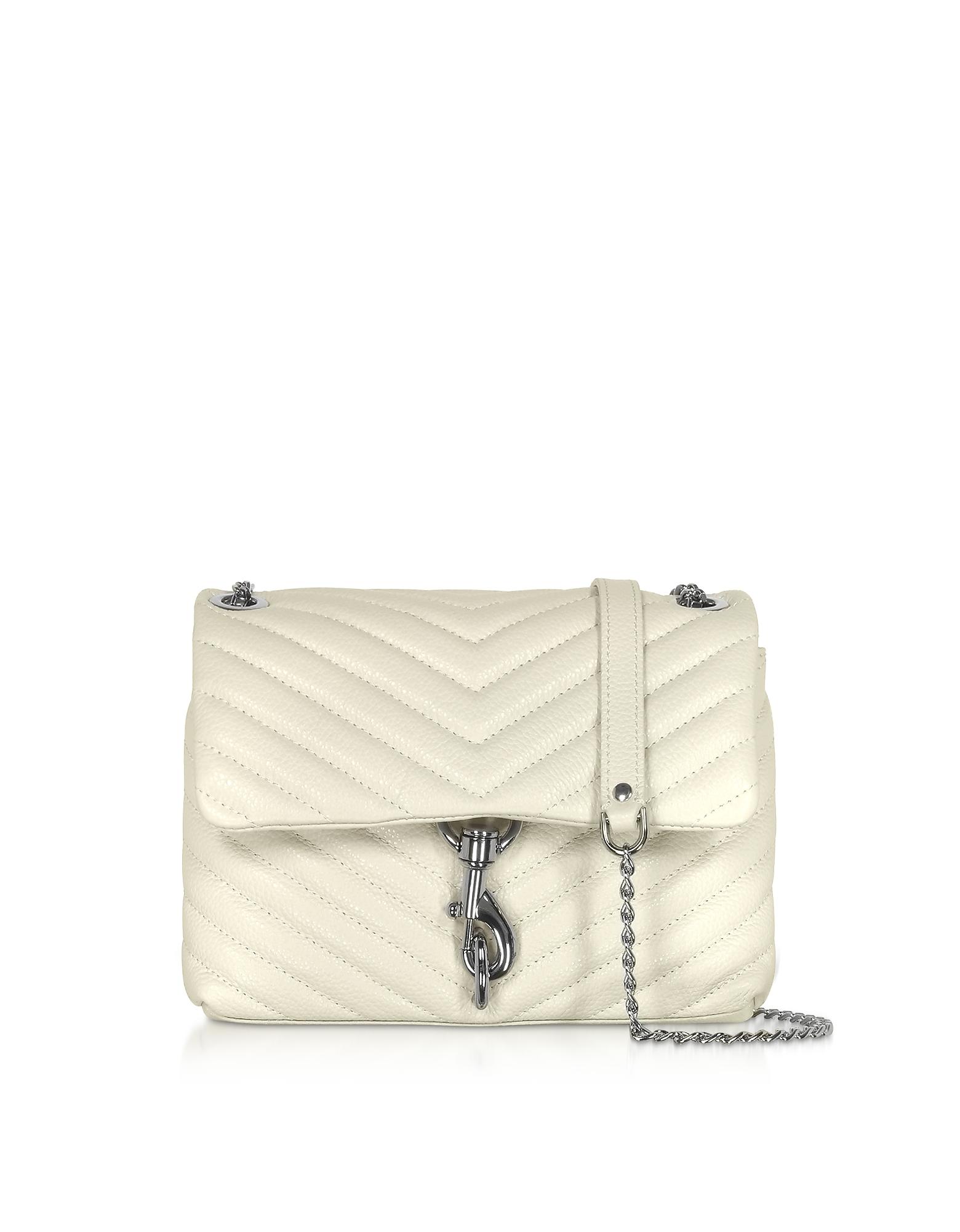Rebecca Minkoff Designer Handbags, Quilted Leather Edie Xbody Bag
