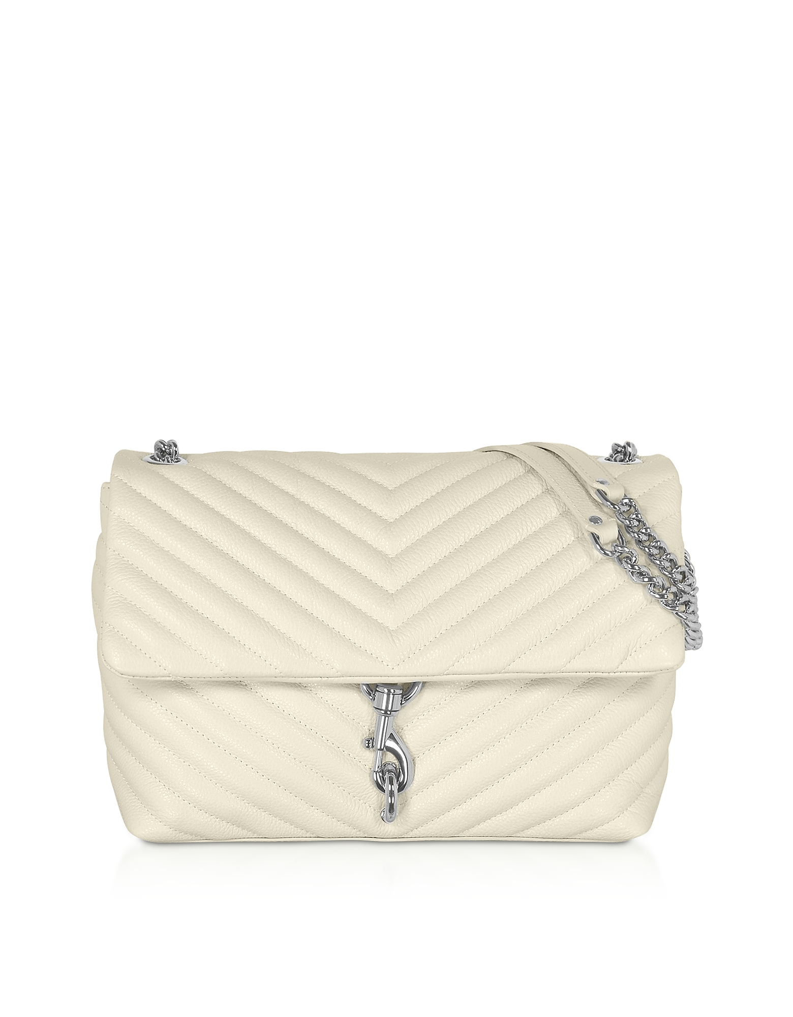 Rebecca Minkoff Designer Handbags, Quilted Leather Edie Flap Shoulder Bag