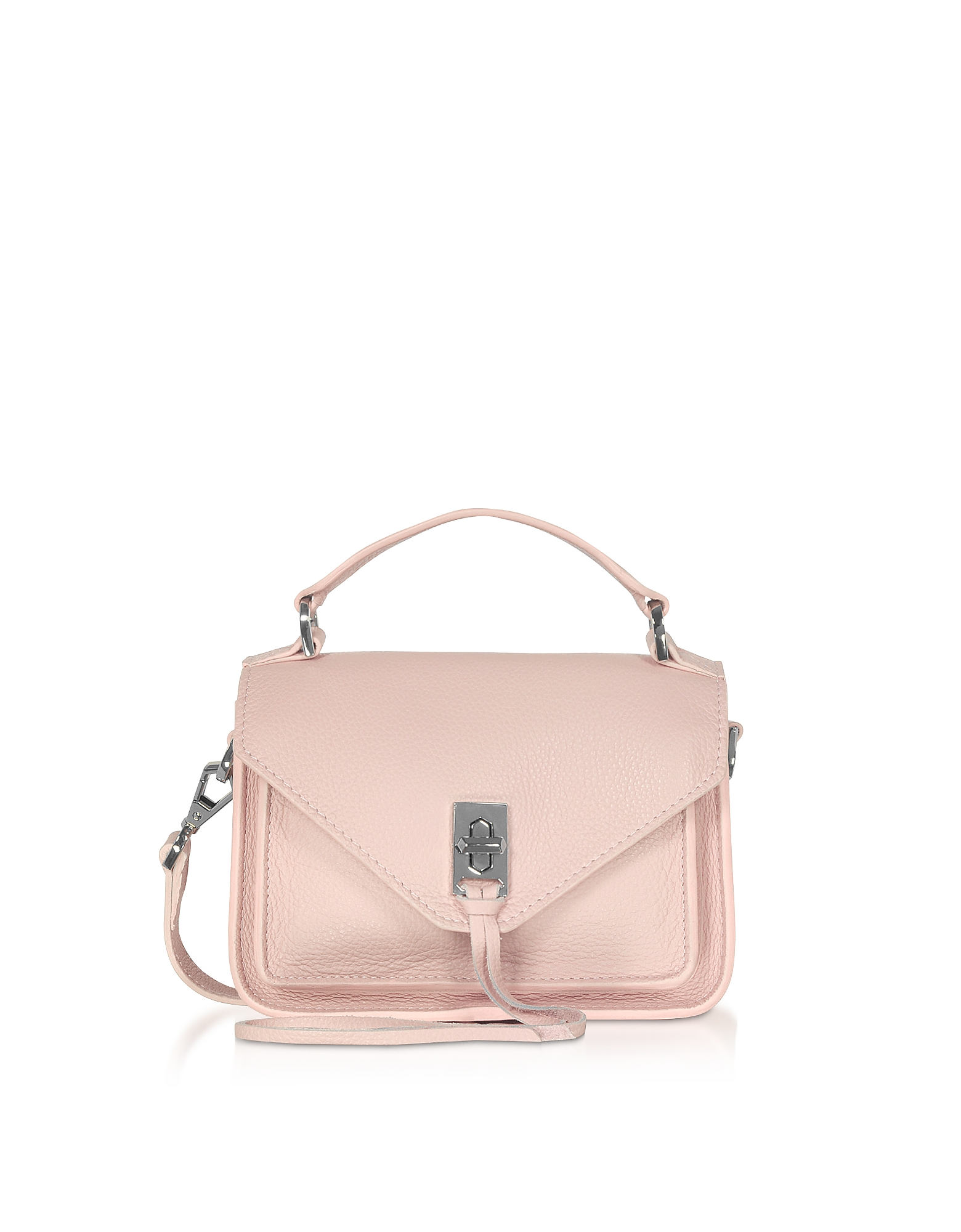 Rebecca Minkoff Designer Handbags, Pebble Leather Mini Darren Messenger Bag