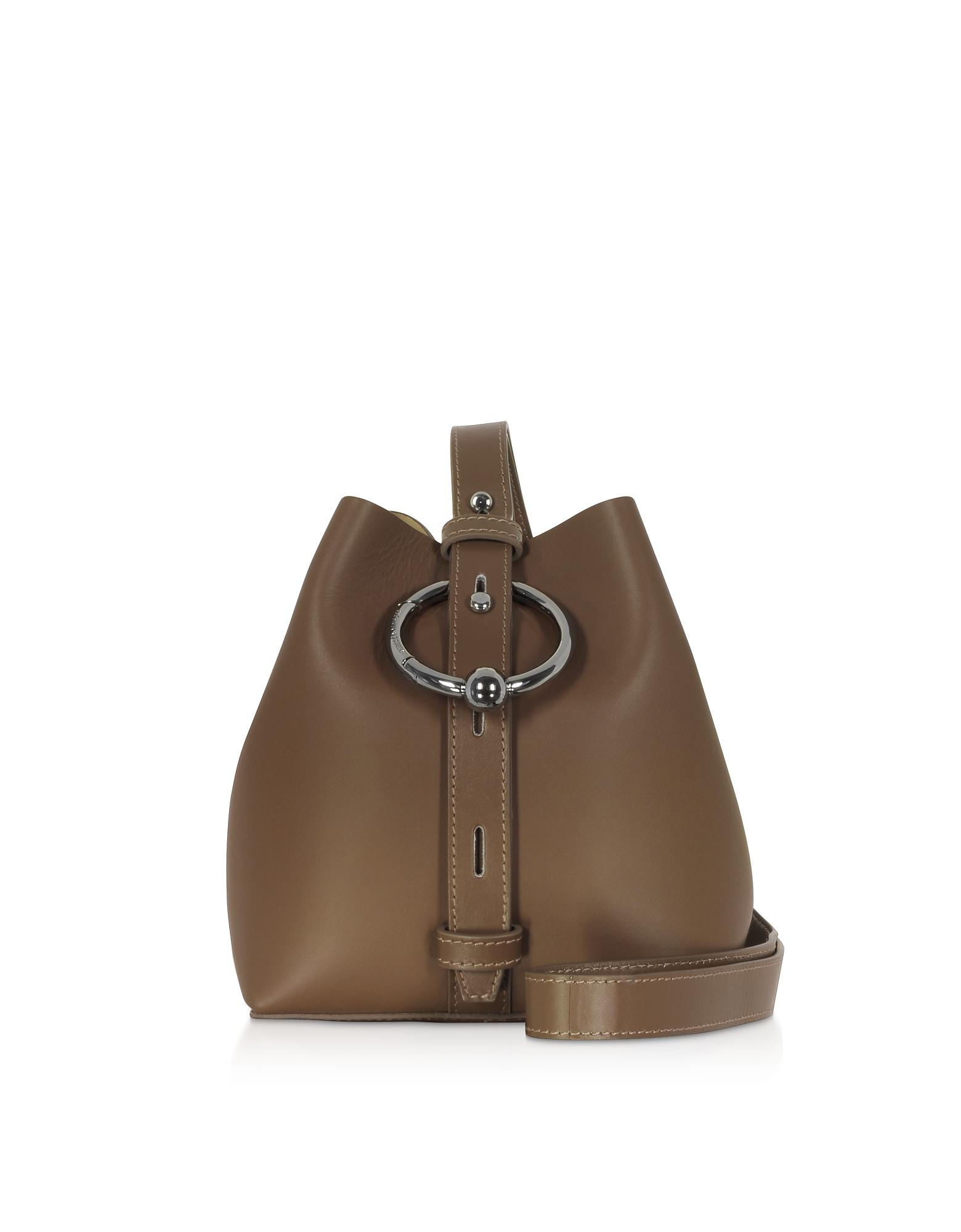 Nappa Leather Mini Kate Bucket Bag