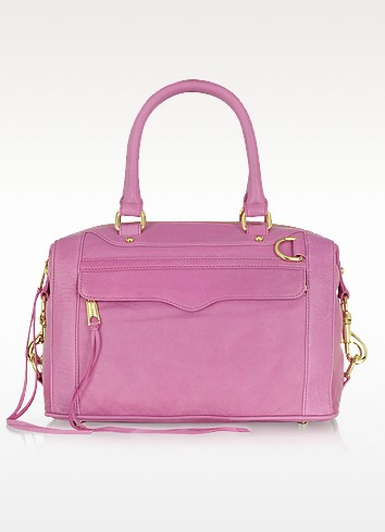 MAB Mini Bombe Large Leather Satchel - Rebecca Minkoff