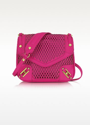 Diamond Laser May May Leather Crossbody Bag - Rebecca Minkoff