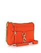 Mini Mac Genuine Leather Clutch/Shoulder Bag - Rebecca Minkoff