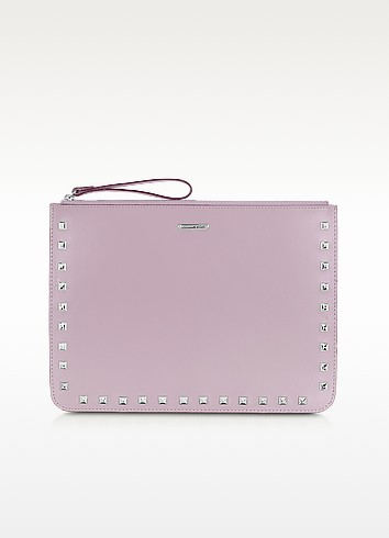 Lissa Studded Leather Pouch - Rebecca Minkoff