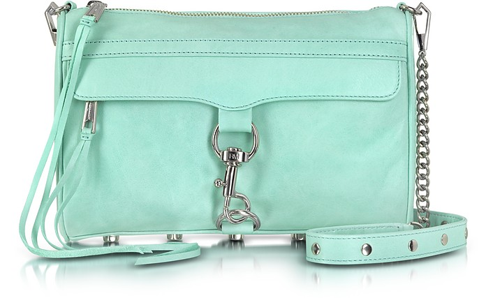 Genuine Leather Mac Clutch/Shoulder Bag - Rebecca Minkoff