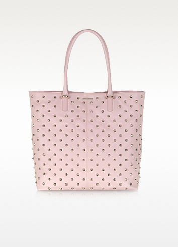 Light Pink Studded Lovers Tote - Rebecca Minkoff