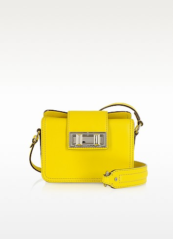 Mini Box Yellow Leather Shoulder Bag - Rebecca Minkoff