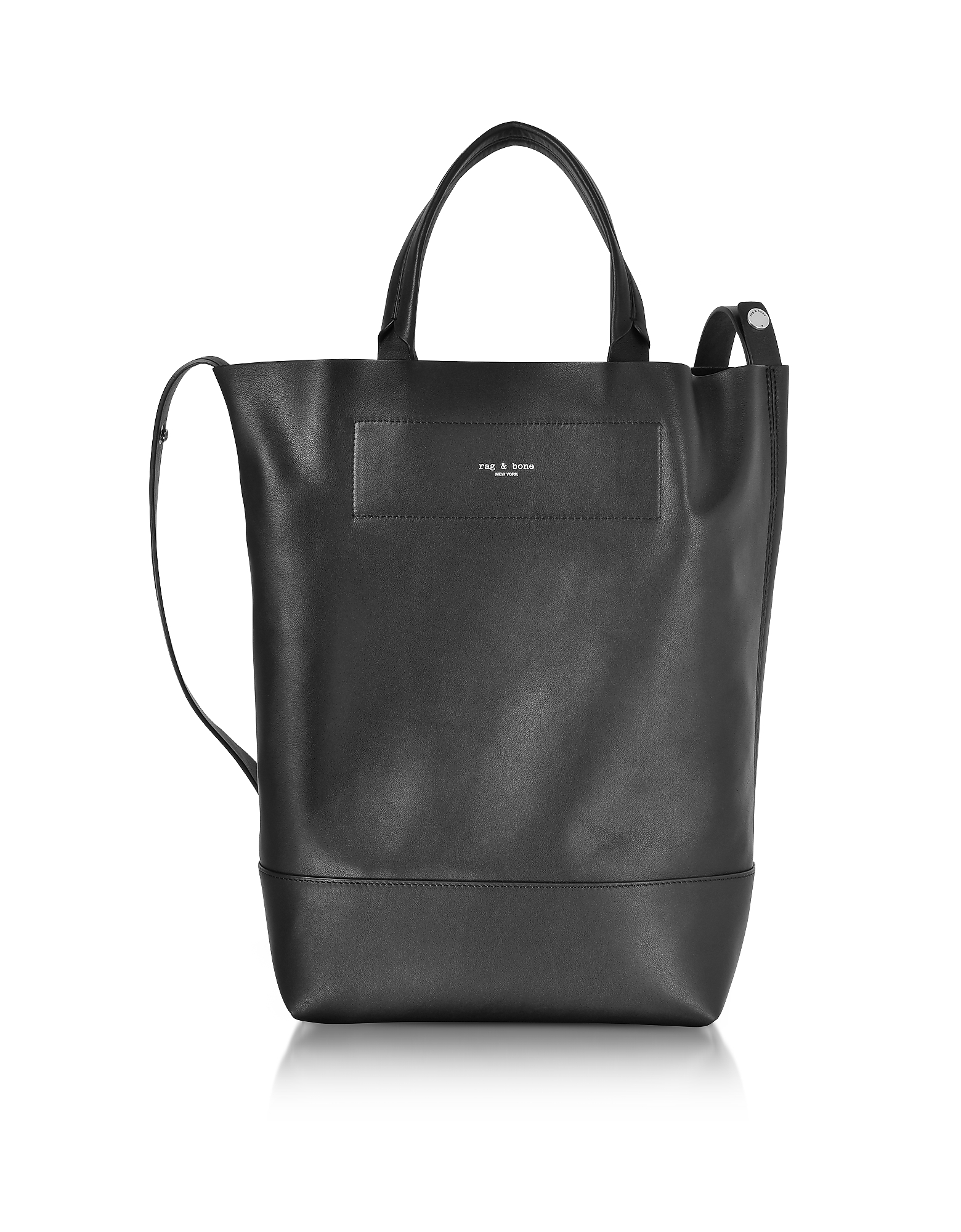 Rag & Bone Handbags, Black Leather Walker Convertible Tote Bag
