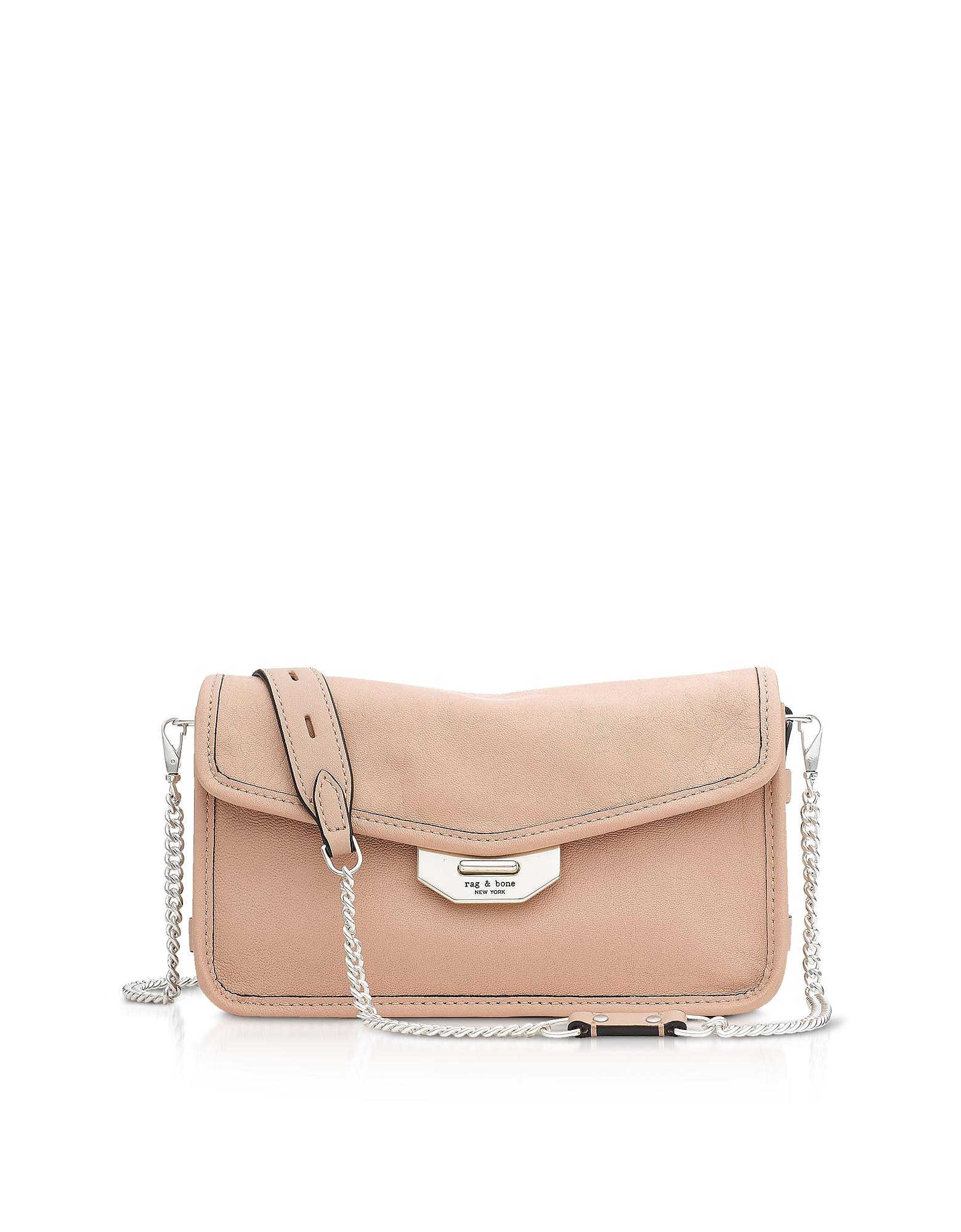 Rag & Bone Handbags, Nude Leather Field Clutch