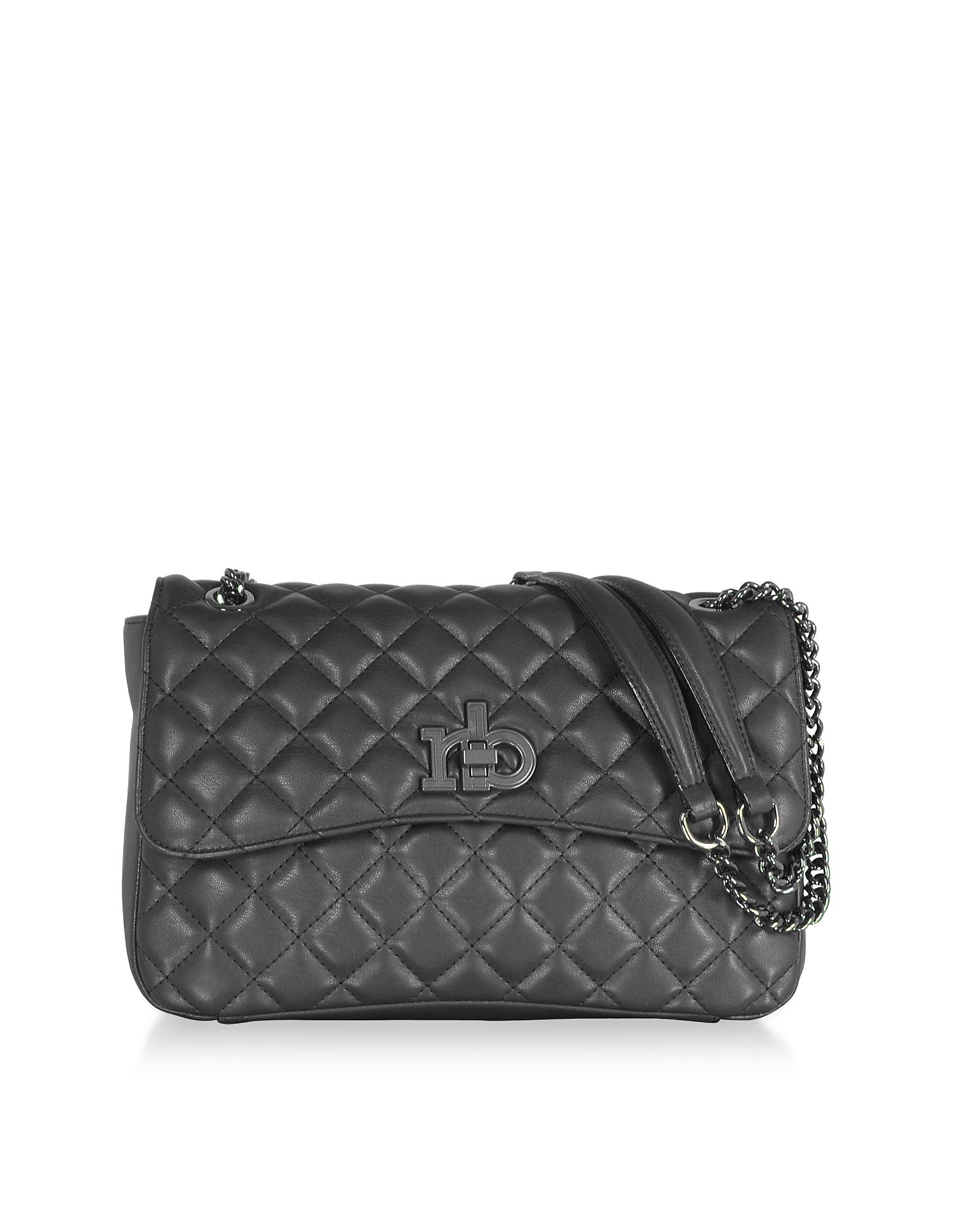RB Releve Quilted Eco Leather Shoulder Bag