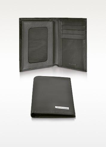 Portafoglio uomo in pelle con porta documenti roccobarocco for Portafoglio gucci semplice