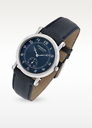 e9f990504 Buy saint laurent bracelet double tour en cuir argent clair embossÉ ...