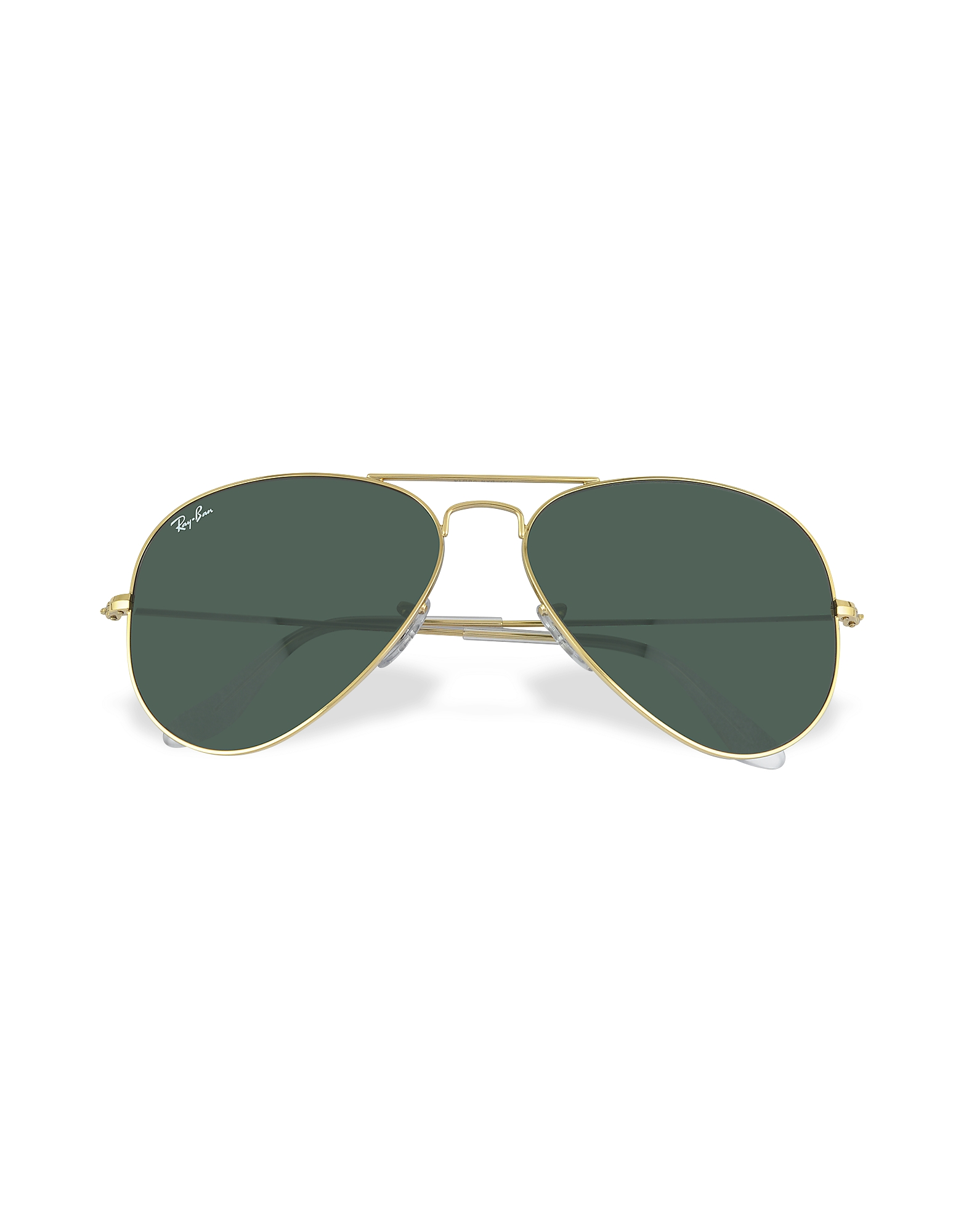 Ray Ban Designer Sunglasses, Aviator - Large Metal Sunglasses