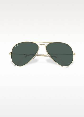 Aviator - Large Metal Sunglasses - Ray Ban