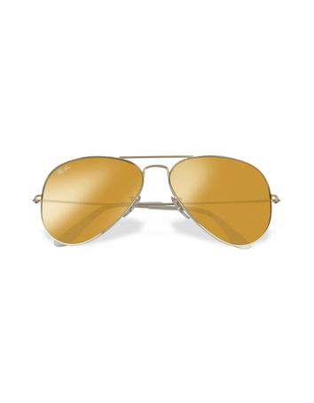 Aviator - Large Metal Sunglasses