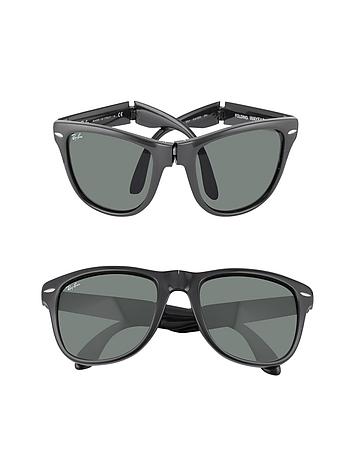 Ray Ban - Wayfarer Folding - Square Acetate Sunglasses