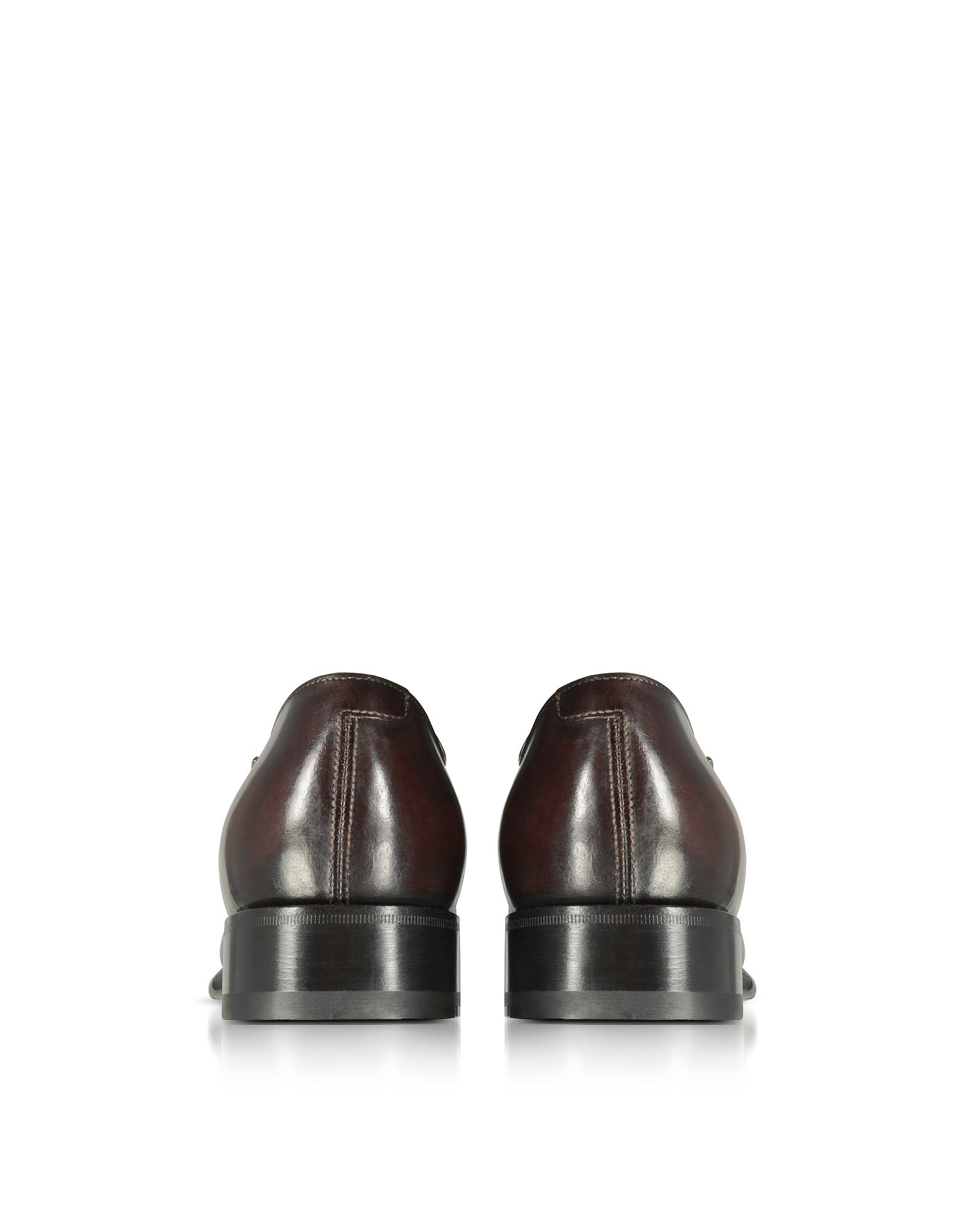 Фото Wilson - Темно-коричневые Кожаные Туфли Дерби. Купить с доставкой