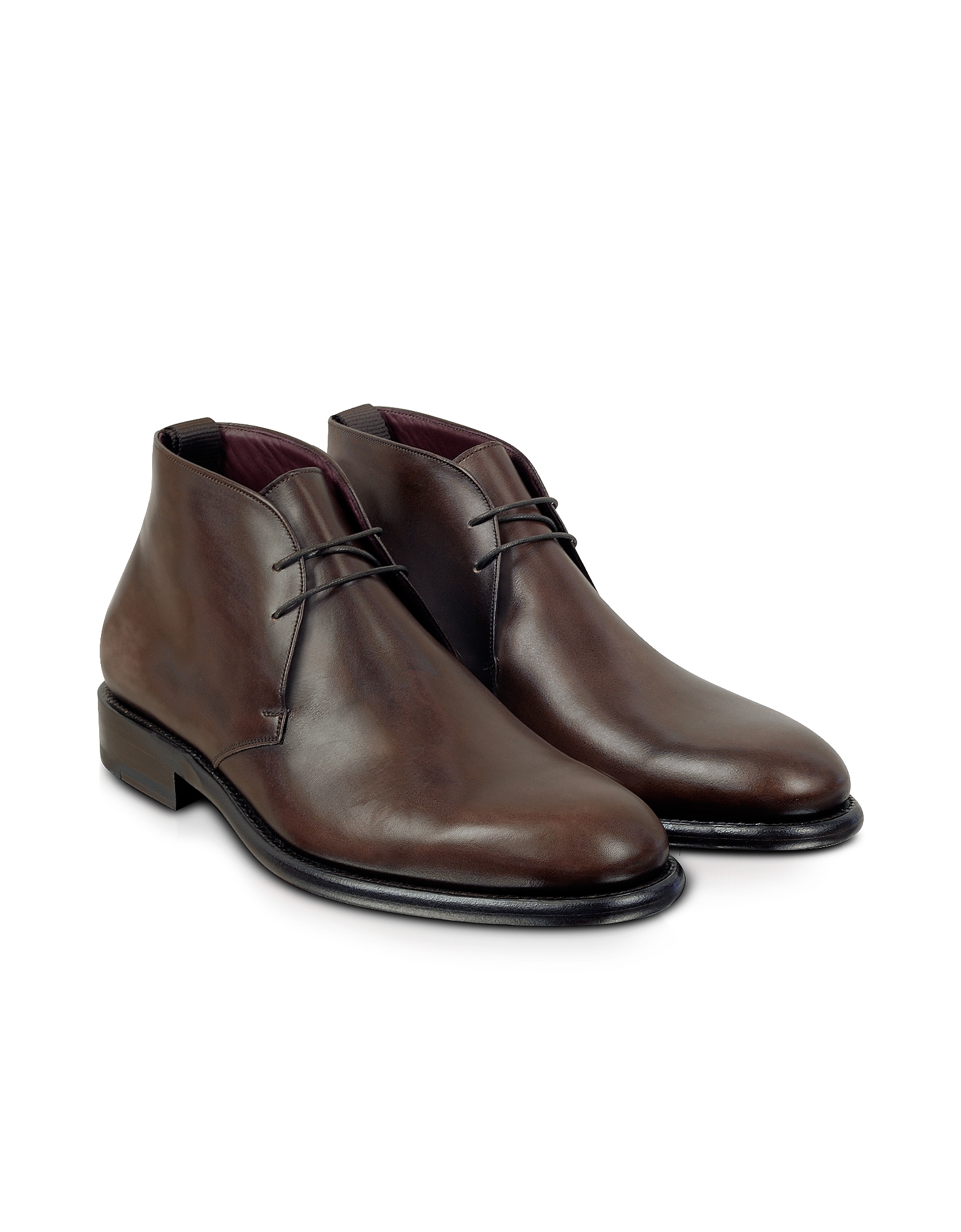 Fratelli Borgioli Shoes, Cayenne - Leather Derby Boot