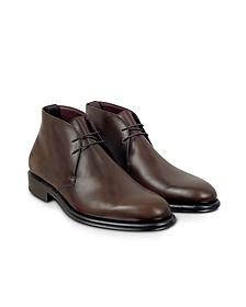 Cayenne - Leather Derby Boot - Fratelli Borgioli