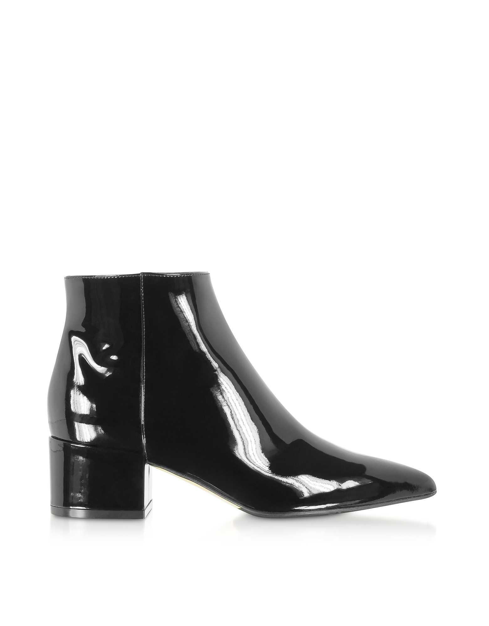 Soft Patent Leather Black Boots